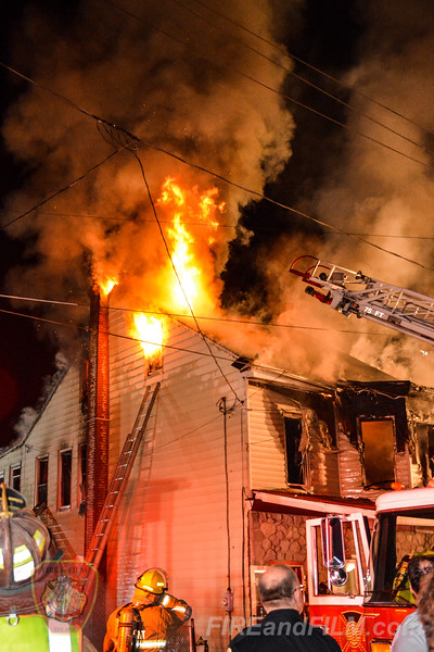 Schuylkill County - Tremont Borough - Dwelling Fire - 07/09/2018