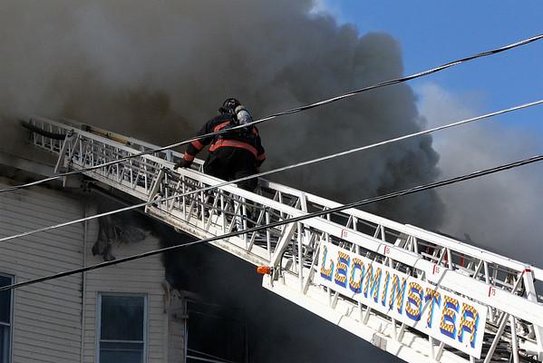 3 Alarms Fitchburg October 10 2015