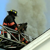 Moments before fire vented through the roof<br /> <br /> Scott LaPrade