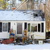 The aftermath of an early morning fire on Saturday at 200 Ellis Rd. in Westminster.<br /> SENTINEL & ENTERPRISE / BRETT CRAWFORD