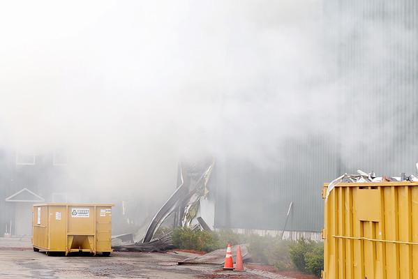 Devens Recycling Center fire
