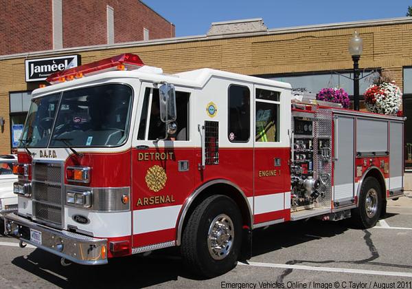 Detroit Arsenal Fire Dept