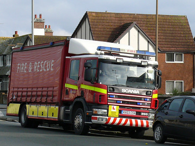 Fire Engine KX03CSV 101122 Llandudno