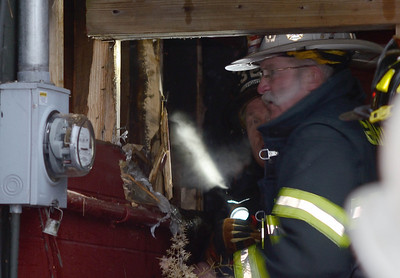 Gardner FFs operate at a 2nd Alm cellar fire at 22 Cote's Rd on Dec 23 2013