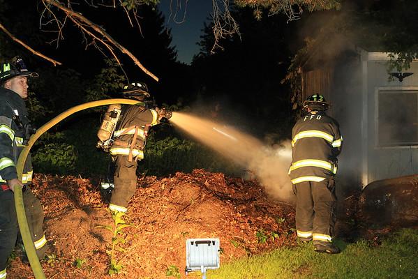 Fitchburg Ma Shed Fire June 22 2014