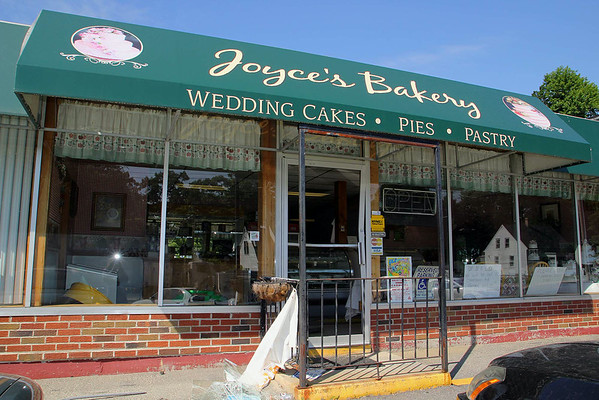 Joyce's Pies & Bakery in Leominseter after fire