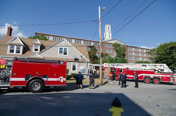 Kitchen fire on Prichard St 9-9-15