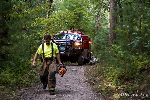 Medfield, MA Rocky Woods Brush fire 9/22/2020