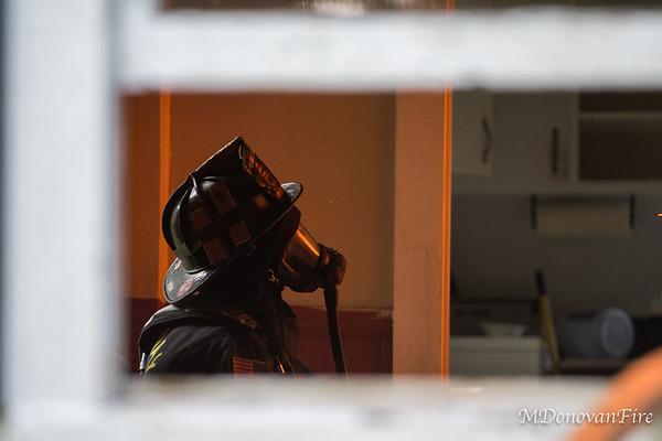 Medway Highland st training burn