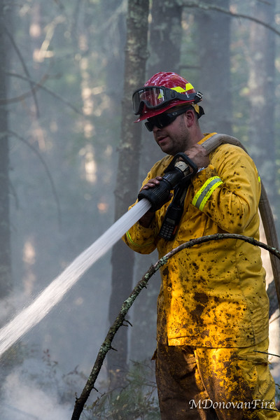 Mendon, MA Thayer st Brushfire 9/21/2020