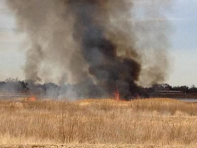 Minnequa Lake Fire 12-29-2012