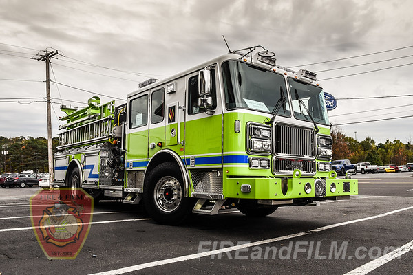 Delivery of Hazle Twp. 141 Engine 2 - 10/11/2017