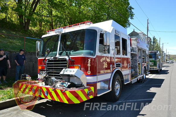 Girard Hose #1 - Parade and Housing - 05/04/2013