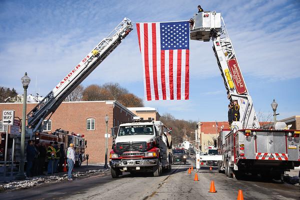 James Hampford Funeral Procession 1/19/2018