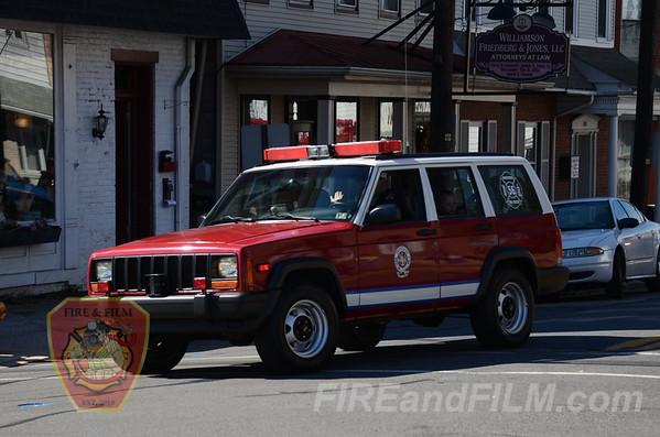 Orwigsburg 125th Anniv. Parade - 10/13/2012