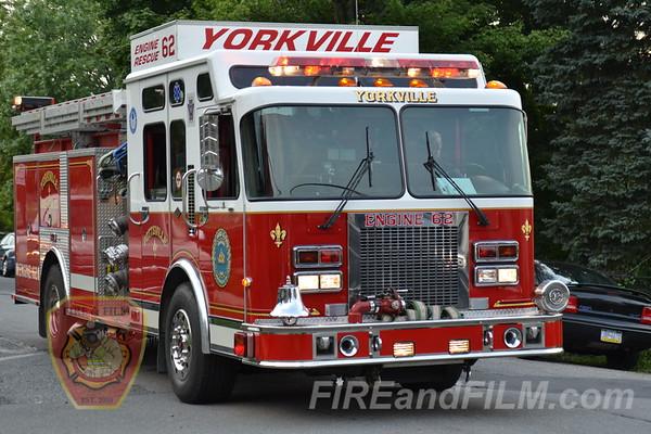Schuylkill County - City of Pottsville - Yorkville Fire Co. Parade - 8/14/2012