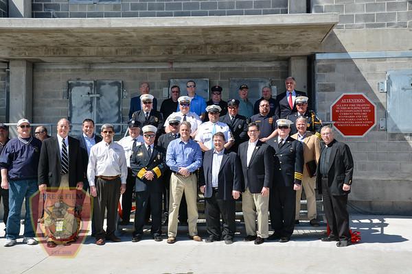 Schuylkill County dedicates new burn building - 04/22/2018
