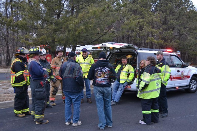 04-04-2013 Yaphank Brush Fire @ Colonial Woods & LIE24