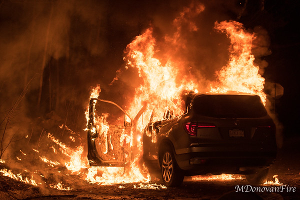 Sherborn Car fire