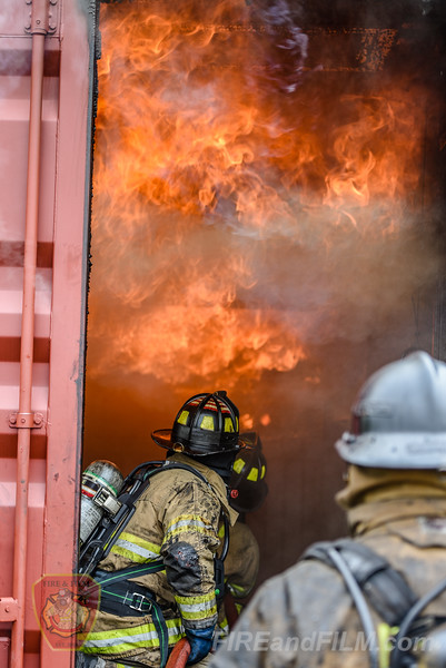 Flashover Survival & Recognition - Schuylkill County Fire School - 05/13/2017