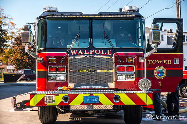 Walpole Fire Tower 1 training