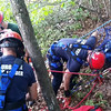 Members of the District 8 Techincal Rescue Team were dispatched to Crow Hill in Westminster to rescue a rock climber tangled in his rope on Thursday afternoon. Courtesy photo