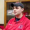 Members of the District 8 Techincal Rescue Team were dispatched to Crow Hill in Westminster to rescue a rock climber tangled in his rope on Thursday afternoon. Westminster firefighter Bennett Chadbourne talks about the newly-formed group on Friday. SENTINEL & ENTERPRISE / Ashley Green