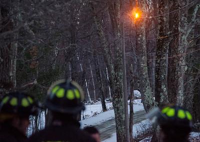 Wire fire Crocker Rd. Ashby