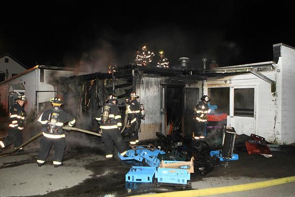 Working Fire Leominster Joyces Pies June 24 2014