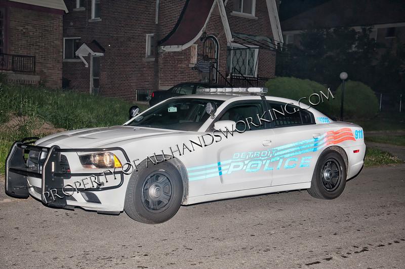 Detroit Police Scout Car