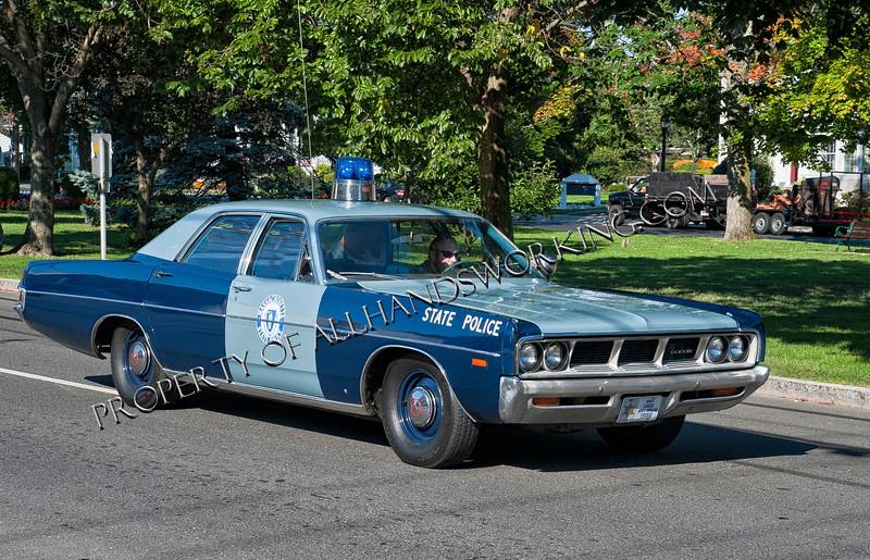 Massachusetts State Police Dodge