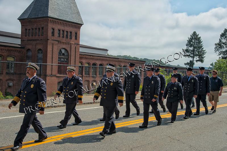 Taftville Fire Department members