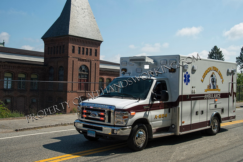 Lisbon Ambulance 554