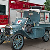 Antique WWI era ambulance