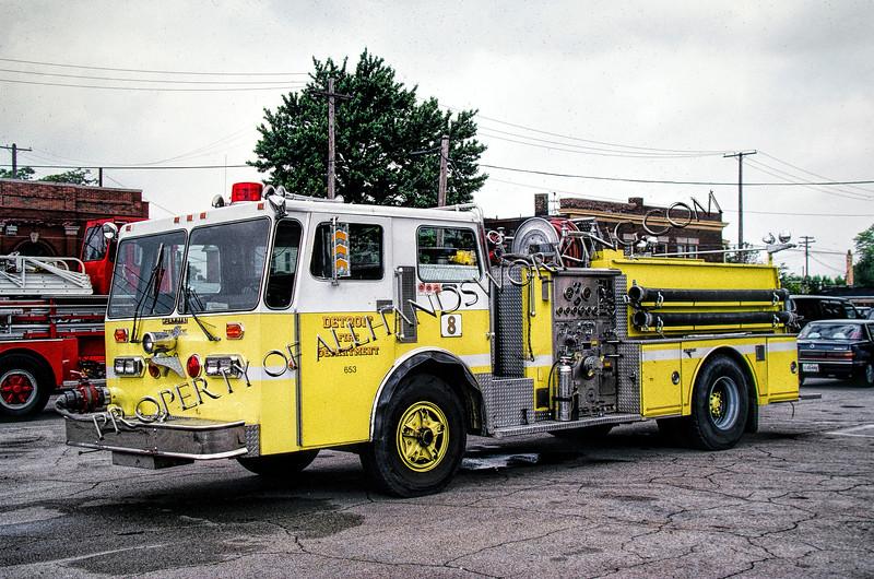 Detroit Engine 8