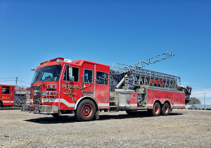 Detroit Ladder 6X