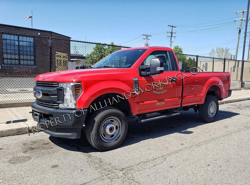 Detroit Fire utility vehicle