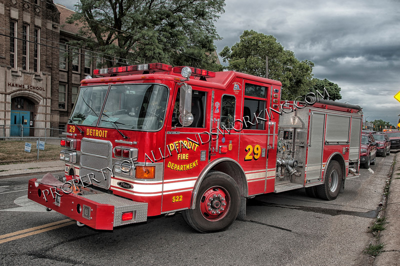 Detroit Engine 29