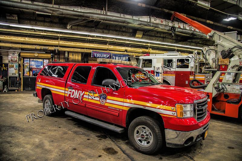 FDNY Fleet Services Pumper Division