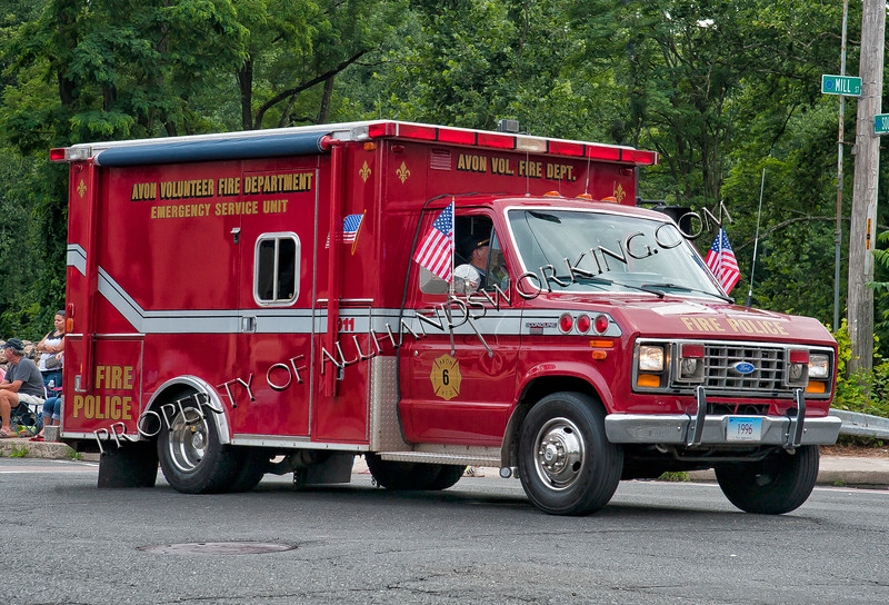 Avon Emrgency Services Fire Police Unit  6