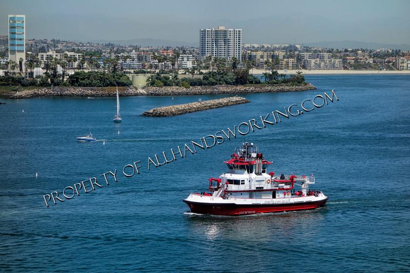 Fireboat Port of Long Beach Long Branch FD