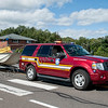 South Windsor Incident Command and boat