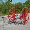 Sayville Antique Hose Cart