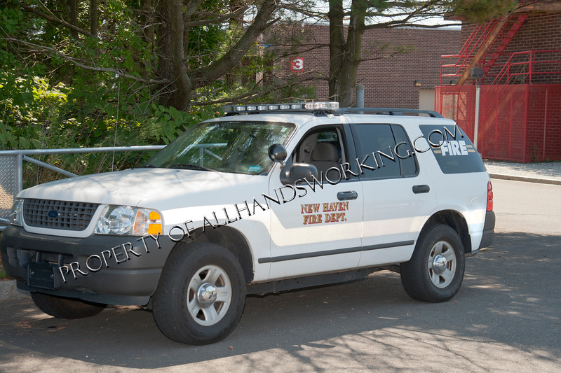 New Haven Fire Training Divsion Vehicle
