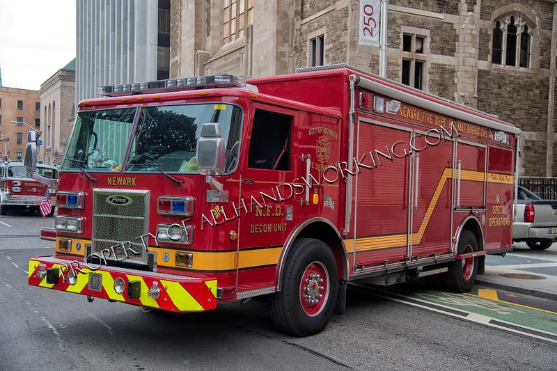 Newark Hazmat Ops Decon Unit