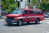 Lyndhurst Fire Department Van