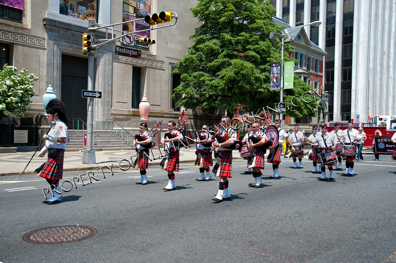 Newark FD Pipes and Drums