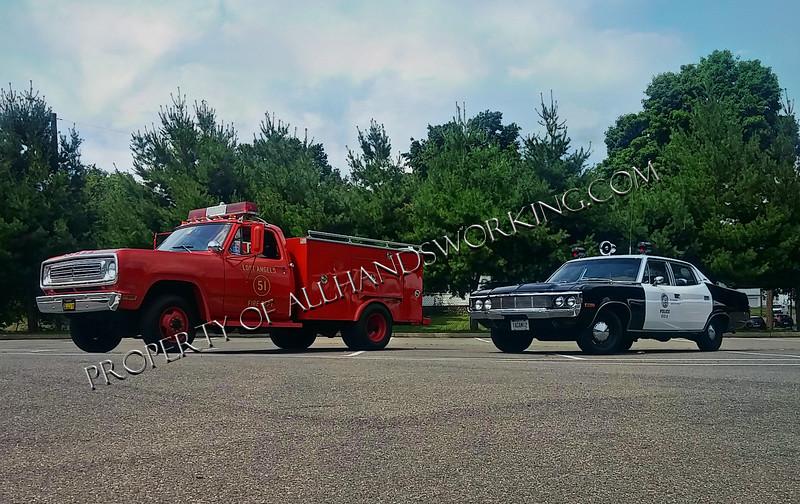 Emergency Squad 51 and 1 Adam 12 Police Car