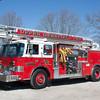 Seabrook, Cumberland County NJ, Ladder 32-16, 1989 Pierce Dash, 1000-750-50', (EX Forest Grove) (C) Edan Davis, www sjfirenews com