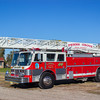 Penns Grove (Salem County NJ) Ladder 4-6, 1989 Hahn Fire Spire, 106ft RM, (C) Edan Davis, www sjfirenews com  (1)